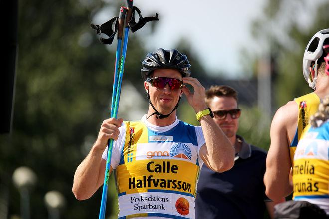 CALLE HALFVARSSON imponerade åter igen i Toppidrettsveka och slog alla norrmännen i masstartsloppet över 24 km. Endast Dario Cologna var före. Foto/rights: MARCELA HAVLOVA/sweski.com