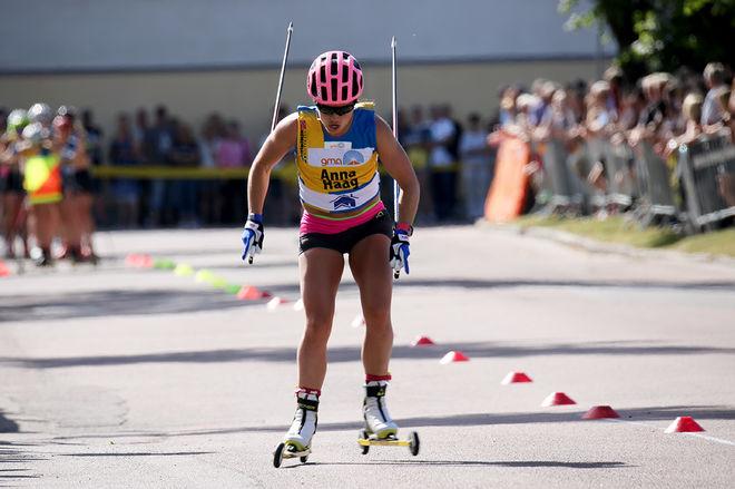 ANNA HAAG var stark 3:a på den längsta och tuffaste etappen av Toppidrettsveka i Norge. Foto/rights: MARCELA HAVLOVA/sweski.com