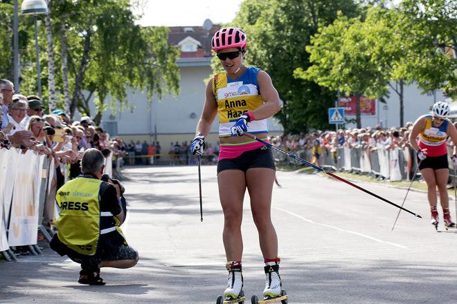 ANNA HAAG imponerade med seger i den avslutande masstarten i Toppidrettsveka i Trondheim. Här från Inge Bråten Memorial i Sunne tidigare i sommar. Foto/rights: MARCELA HAVLOVA/sweski.com