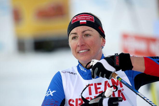 JUSTYNA KOWALCZYK kommer inte att åka för Team Santander i vinter. Hon tycker att laget har blivit för norskt. Foto/rights: KJELL-ERIK KRISTIANSEN/sweski.com