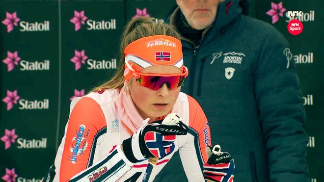 MARTE NORDLUNDE är en ganska okänd skidåkare, men hon slog världsrekord på 100 meter i vinter och utmanar nu det svenska landslaget i Östersund i slutet av oktober.