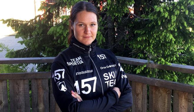 BRITTA JOHANSSON NORGREN är storfavorit i UVK-rullen i Uppsala. Långloppsdrottningen är nästan på sin gamla hemmaplan här. Foto: ARRANGÖREN