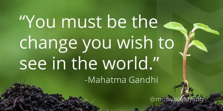 Sitat fra Gandhi