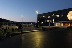 Skolegård fotballbinge