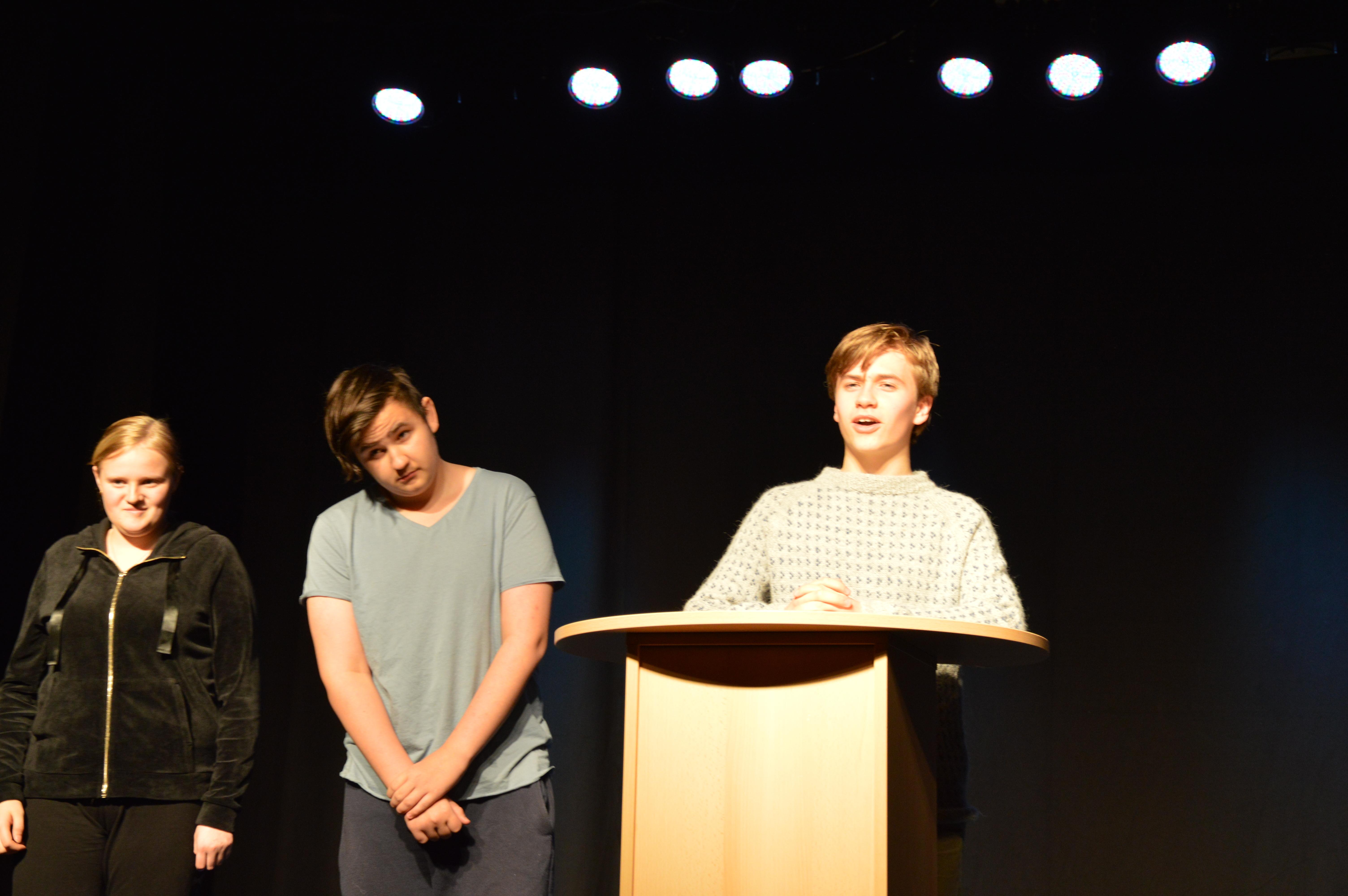 Prøver til Åpen mikrofon_lokale politikere