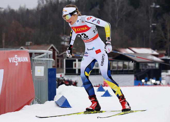 STINA NILSSON är det sista toppnamnet som hoppar av Tour de Ski. Sedan tidigare har både Marit Bjørgen och Charlotte Kalla tackat nej till vinterns tävling och Heidi Weng åker troligen inte heller. Foto/rights: MARCELA HAVLOVA/KEK-photo