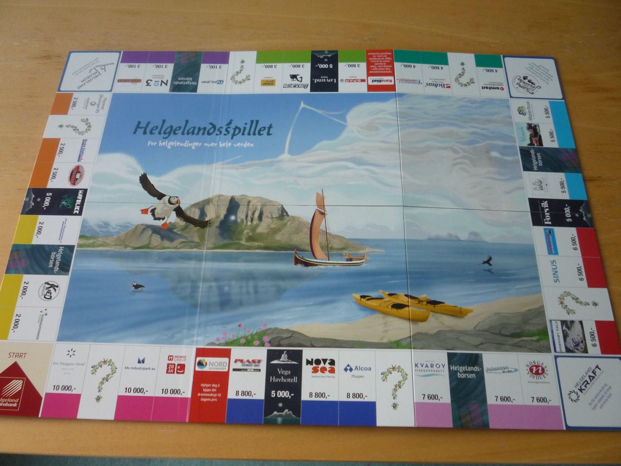 Kjøp Helgelandsspillet