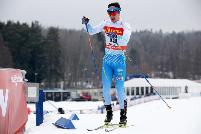 RISTOMATTI HAKOLA dominerade fredagens klassiska sprint i Olos. Här från världscupen i Falun i vintras. Foto/rights: MARCELA HAVLOVA/KEK-photo
