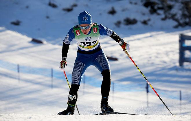 LINA KORSGREN, Åre avslutade starkt i Bruksvallsloppet och åkte upp sig till en 2:a plats i slutlistan. Foto/rights: KJELL-ERIK KRISTIANSEN/KEK-photo