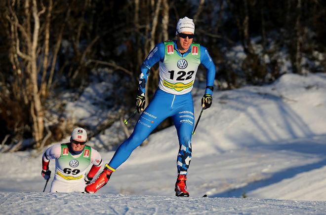 ANTON LINDBLAD, Hudiksvall var näst bäste svenska åkare med en 6:e plats. Foto/rights: KJELL-ERIK KRISTIANSEN/KEK-photo