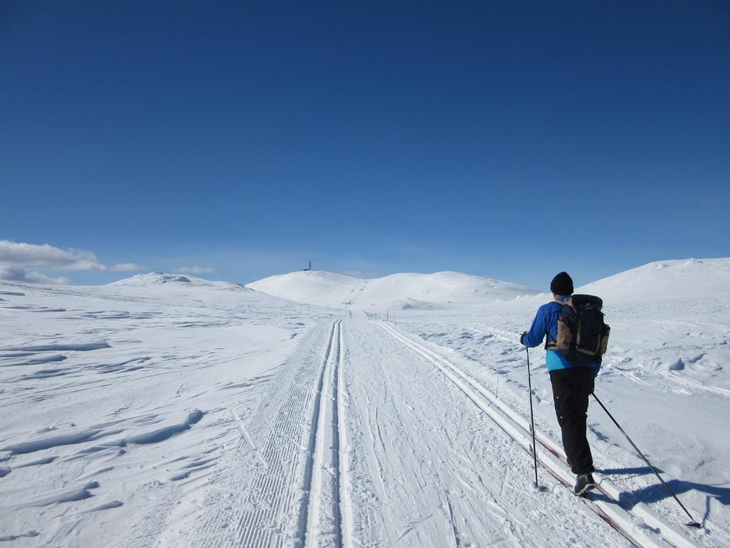 69. Foto RG Spåtindtoppen på ski ( 1)