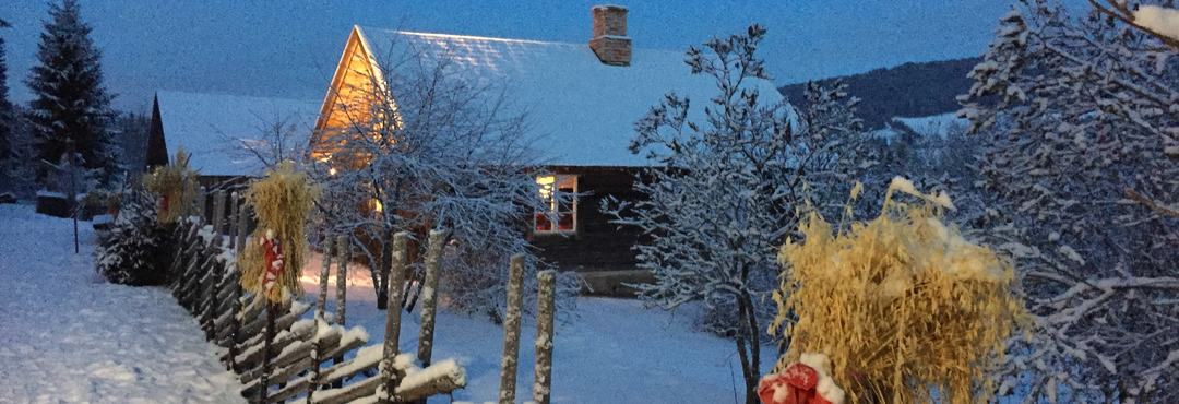 Prøysenstua vinter