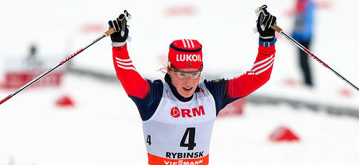 25.01.2015, Rybinsk, Russia (RUS): Yulia Tchekaleva (RUS), Fischer, Swix, Alpina, Rottefella, Adidas- FIS world cup cross-country, skiathlon women, Rybinsk (RUS). www.nordicfocus.com. © Laiho/NordicFocus. Every downloaded picture is fee-liable.