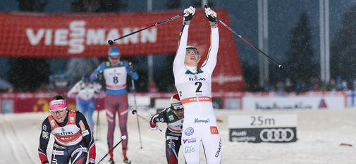 26.11.2016, Ruka, Finland (FIN):Stina Nilsson (SWE) - FIS world cup cross-country, individual sprint, Ruka (FIN). www.nordicfocus.com. © Modica/NordicFocus. Every downloaded picture is fee-liable.