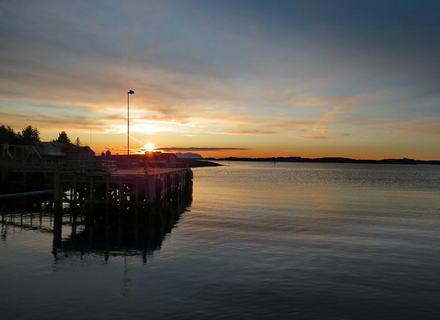 Solnedgang i Tennvalen