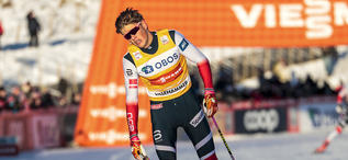 03.12.2017, Lillehammer, Norway (NOR):Johannes Hoesflot Klaebo (NOR) - FIS world cup cross-country, skiathlon men, Lillehammer (NOR). www.nordicfocus.com. © Modica/NordicFocus. Every downloaded picture is fee-liable.