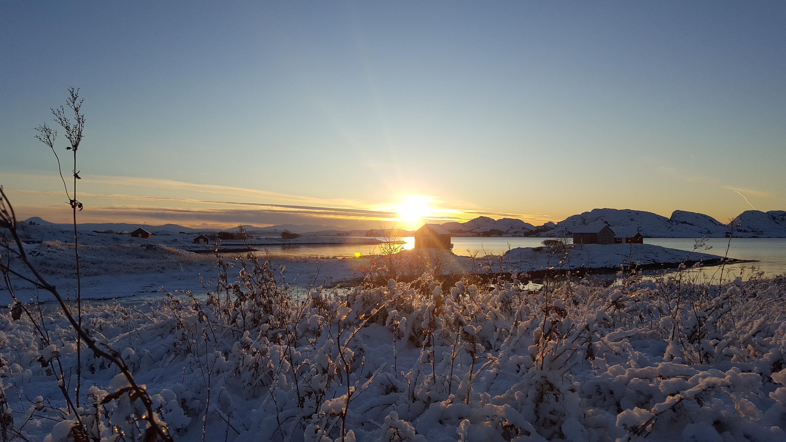 Vinterstemnings på Seløy