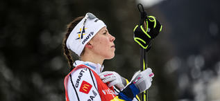 08.12.2017, Davos, Switzerland (SUI):Charlotte Kalla (SWE) - FIS world cup cross-country, training, Davos (SUI). www.nordicfocus.com. © Modica/NordicFocus. Every downloaded picture is fee-liable.