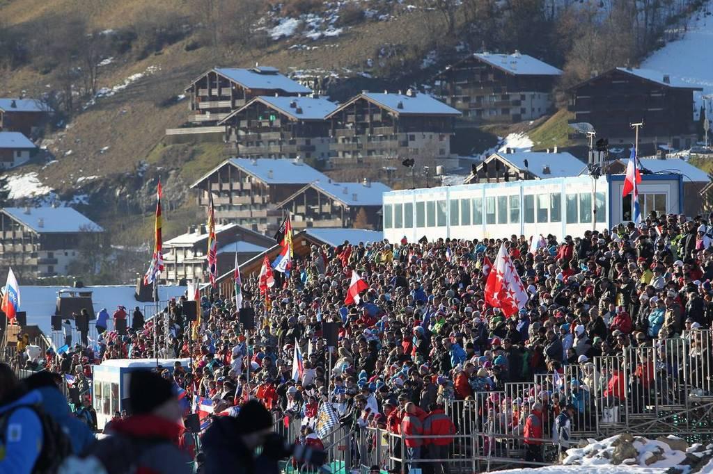 Foyer Nordique Grand Bornand : Biathlon grand bornand une fanzone à annecy ski