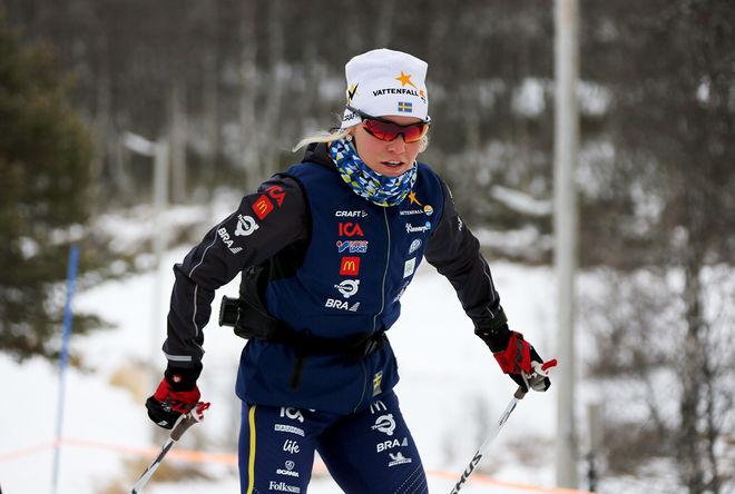 LISA VINSA, Piteå Elit är ett av dom svenska hoppen på U23-VM i Schweiz. Foto/rights: KJELL-ERIK KRISTIANSEN/KEK-stock