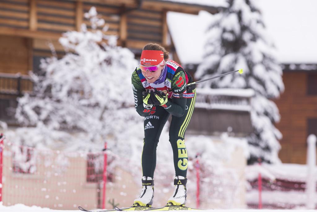 Foyer Nordique Grand Bornand : Grand bornand les photos du jour ski nordique