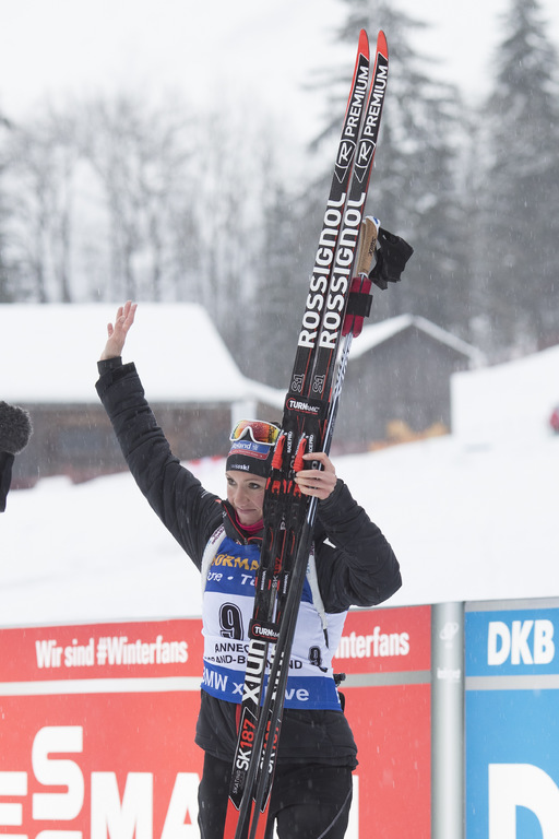 Foyer Nordique Grand Bornand : Biathlon grand bornand les photos du sprint dames ski