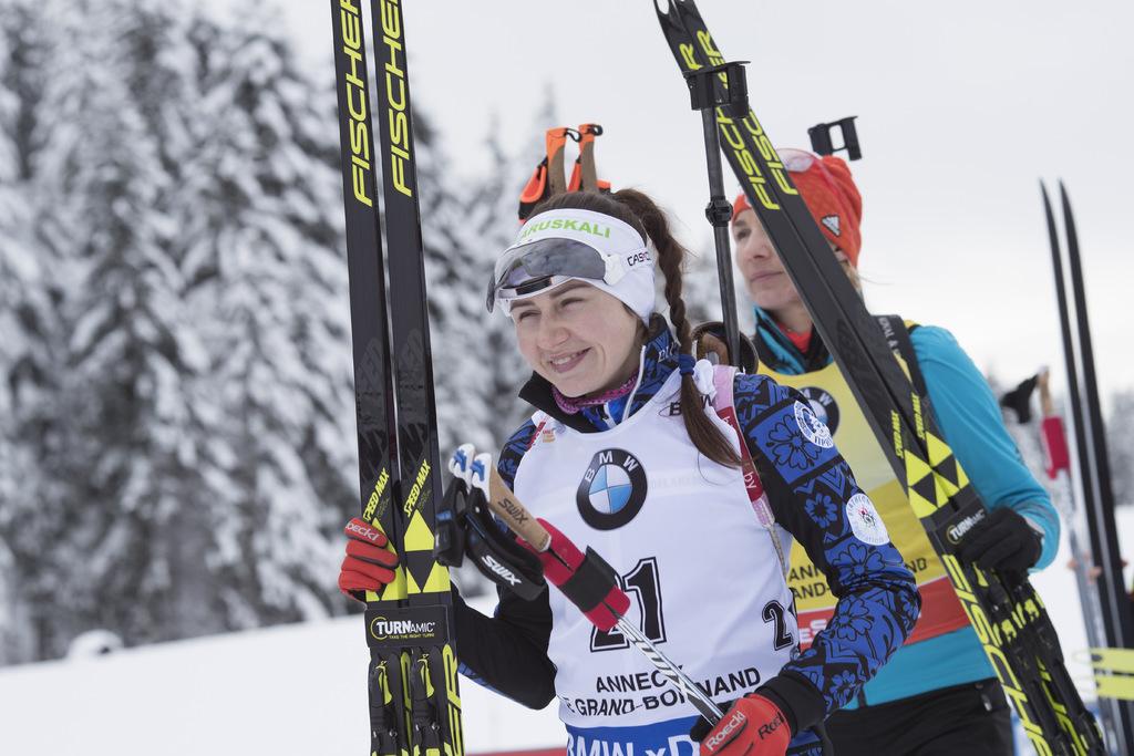 Foyer Nordique Grand Bornand : Biathlon grand bornand les photos du mass start dames