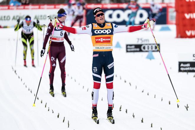 JOHANNES HØSFLOT KLÆBO åker norska mästerskapen i sprint på torsdag och åker sedan direkt till världscupen i Dresden i helgen. Foto: NORDIC FOCUS