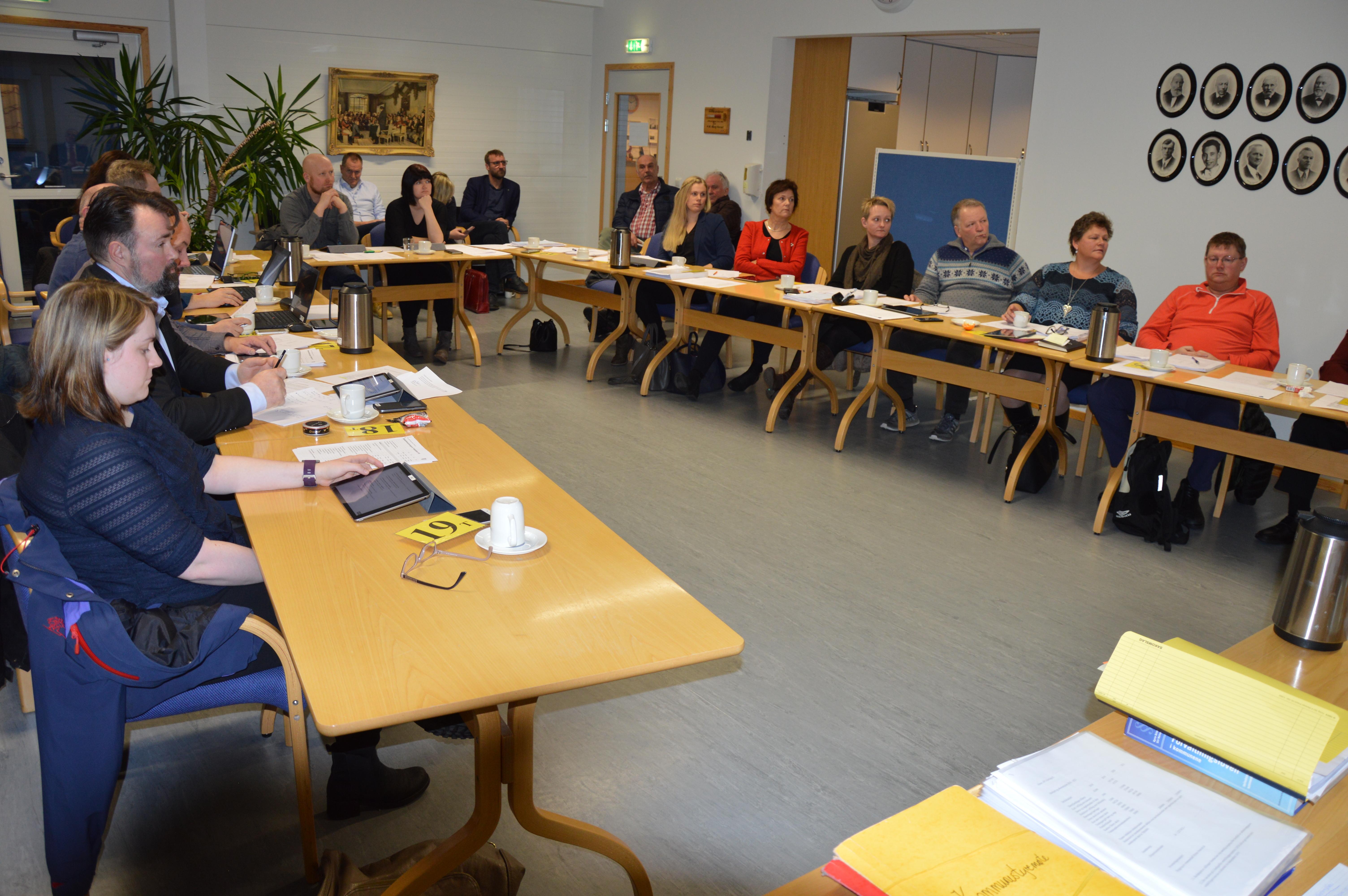 Kommunestyremøte 19