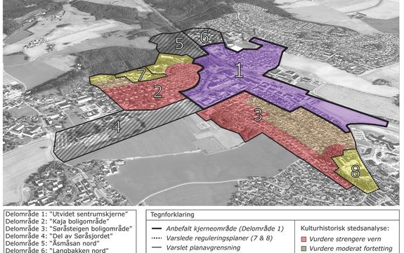 Illustrasjonsbilde, rådmannen anbefaler justert fortettingsstrategi