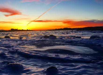 Solheimstrekninga mot Svinøy