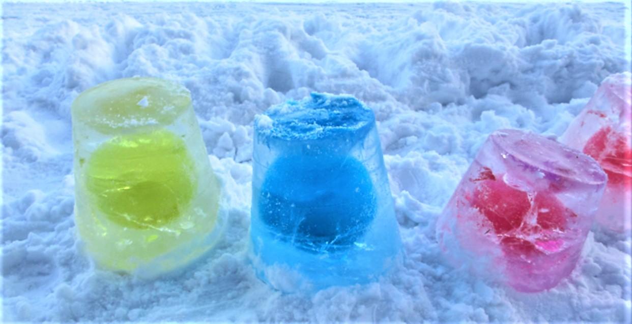 fryseboks til is