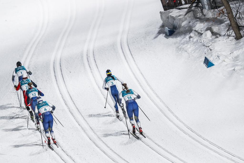 Jo 2018 ski de fond la start list du relais dames ski - Coupe du jura ski de fond ...