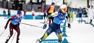17.02.2018, Pyeongchang, Korea (KOR):Stina Nilsson (SWE) - XXIII. Olympic Winter Games Pyeongchang 2018, cross-country, 4x5km women, Pyeongchang (KOR). www.nordicfocus.com. © Modica/NordicFocus. Every downloaded picture is fee-liable.
