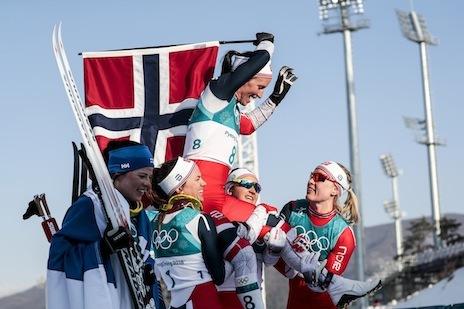 Marit Björgen et la Norvège triomphent