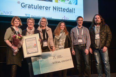 Nittedal kommune gikk av med seieren under kommunalteknikkmessen ved Telenor Arena i 2016.