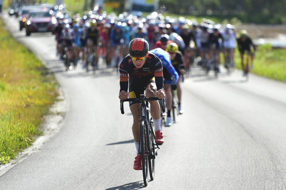 Sykkelritt på landevei