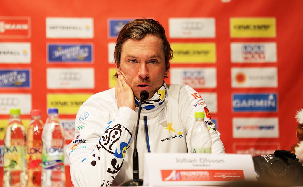 Johan olsson visade klass i fristil