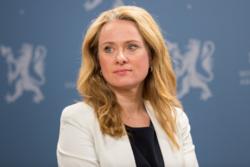 Arbeids- og sosialminister Anniken Hauglie. Foto: Jan Richard Kjelstrup, ASD