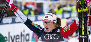 Cologna behaller greppet