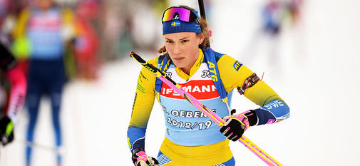 16.01.2019, Ruhpolding, Germany (GER):Hanna Oeberg (SWE) -  IBU world cup biathlon, training, Ruhpolding (GER). www.nordicfocus.com. © Tumashov/NordicFocus. Every downloaded picture is fee-liable.