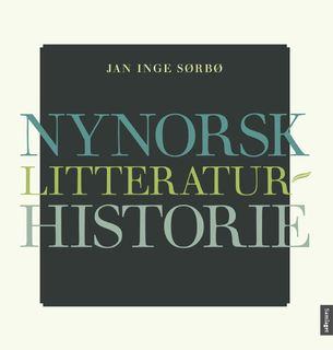 """Bildet viser omslaget til boken """"Nynorsk litteraturhistorie"""""""