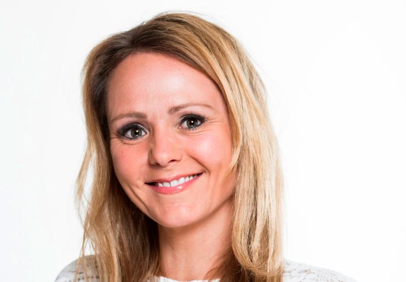 Distrikts- og digitaliseringsminister Linda Hofstad Helleland. Foto: Astrid Waller.