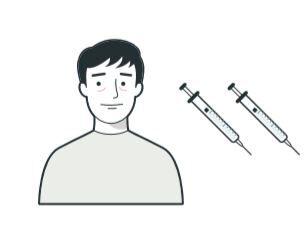 Vaksine illustrasjon