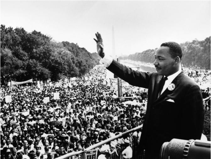 28. august 1963 holdt Martin Luther King jr. sin berømte