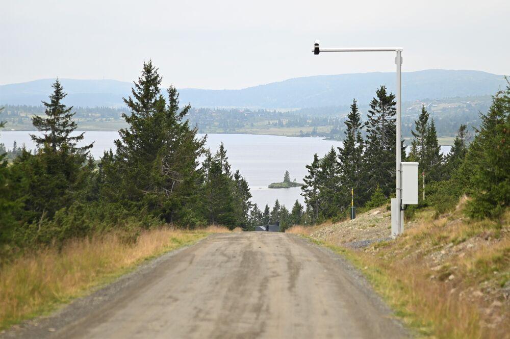 Kamera av denne typen erstatter bommene på innfartsveiene til fjellet.