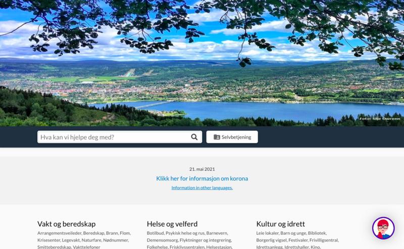 Fra Lillehammer kommunes nettsted.