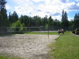 Tennis, sandvollyball