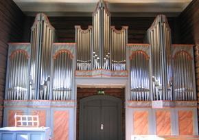 Orgelfasade Nordsinni - Ryde & Berg