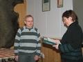 Pics: Brynjar Skjærvik - medalje for lang og tro tjeneste